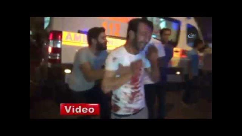 Gaziantepte Patlama Video - Bombalı Saldırı - Olay Yeri İlk Görüntüler - Ölü ve Yaralılar Var