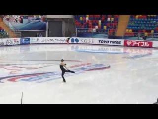 Rostelecom Cup 2016 Юлия Липницкая на тренировке 2016.11.04