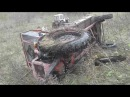 Мордва убили трактор(жесть)