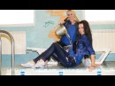 Nastya and Kristina are soaking together fully clothed! Wetlook