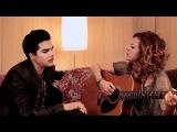 Nikka Costa &amp Adam Lambert belt out a new tune