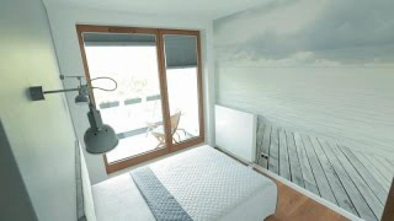 Szybkie Metamorfozy odc. 111 Łazienka, sypialnia, balkon, korytarz - aranżacje wnętrz