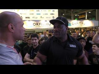 Kevin Levrone Dexter Jackson in Moscow / Кевин Леврони и Декстер Джексон в Москве | Pro BB World
