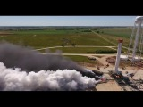 Первые огневые испытания центрального блока РН Falcon Heavy прошли успешно