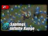 MAOKAI BUG - Saplings Infinite Range  LoL Epic Moments #21