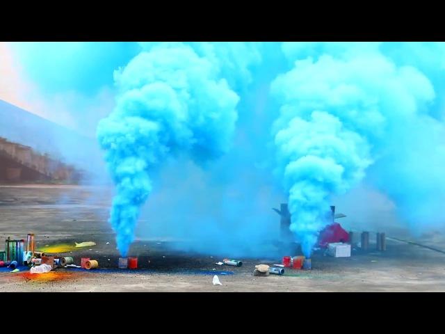 Дымовая бомба MA0510/B (синий дым) [Пиротехника,Фейерверки,Батареи салютов,Петарды,Ракеты,Хлопушки,Свечи,БЕСПЛАТНАЯ ДОСТАВКА по СПБ]