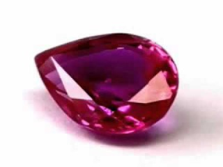 VERY RARE VVS 0,95ct UNHEATED Untreated Certified Pear Natural Sapphire