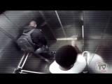 Пранк: чувак обосрался в лифте