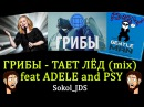 Грибы - Тает лёд (mix) feat Adele and PSY