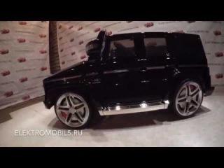 MERCEDES-BENZ G55 черный обзор