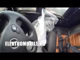 Мереседес G55 доставка электромобиля