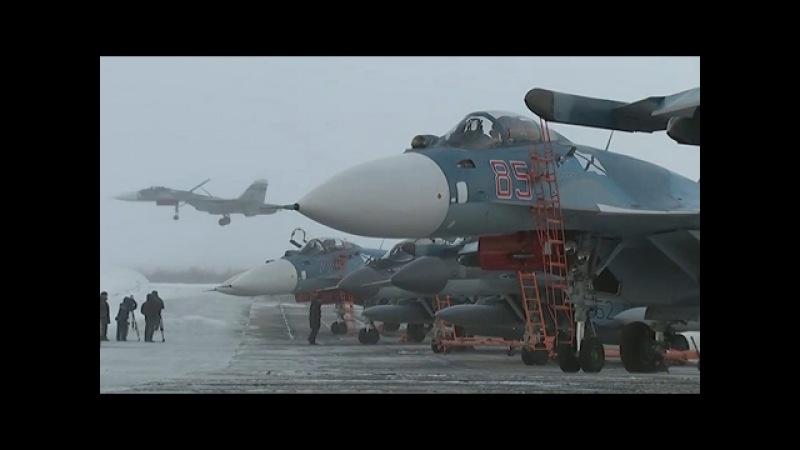 Возвращение палубной авиации СФ с борта ТАВКР «Адмирал Кузнецов»