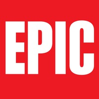Логотип EPIC магазин комиксов во Владивостоке