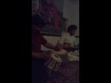 Keshava Rao Nayak (tabla) and Shridhar Banerjee (vina) - Varanasi, International Music Ashram (part 1), December 2016