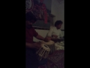 Keshava Rao Nayak (tabla) and Shridhar Banerjee (vina) - Varanasi, International Music Ashram (part 1), December 2016