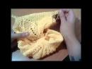 Вяжем кофточку с листиками часть 3 переходим к рукаву и расчет петель