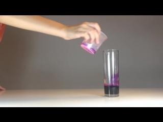 Экспериментатор. Перекись водорода + Марганцовка