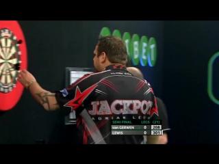 Michael van Gerwen vs Adrian Lewis (PDC Unibet Masters 2017 / Semi Final)