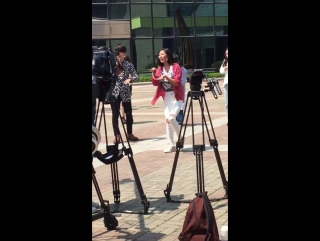 160429 Yesung filming Sisters Slam Dunk