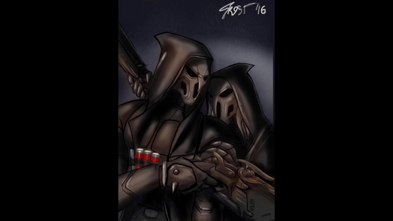 Overwatch Reapers (пародия на А. Венецианов - Жнецы)
