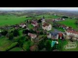 Европа с квадрокоптера в 4K  Aerial video of Europe in 4K [Tour de Franch]