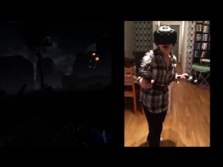 [HTC Vive] Renates first time playing. The Brookhaven Experiments, 1 wave, and thats enough