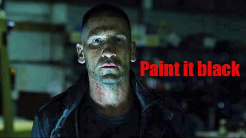 Frank Castle - Paint it black