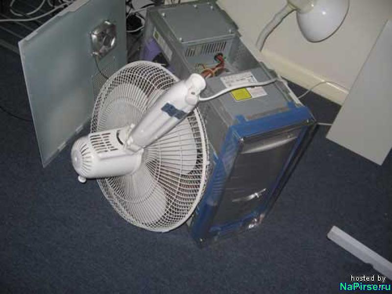 Вентилятор вместо кулера