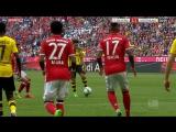 Bayern Munich 2-1 Borussia Dortmund - Guerreiro 20