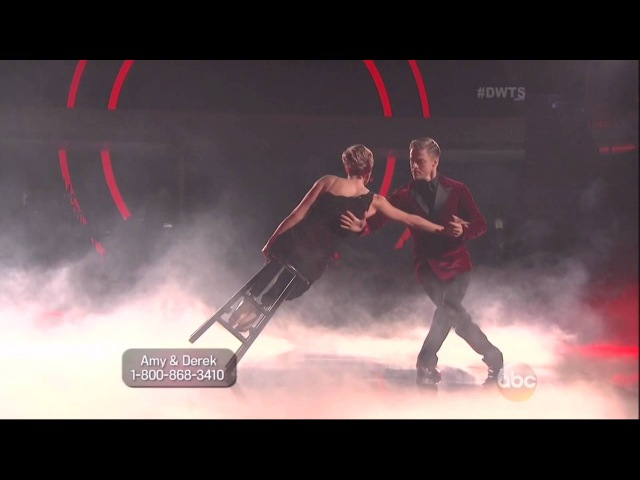 Derek Hough Amy Purdy dancing Argentine Tango on DWTS 5 5 14