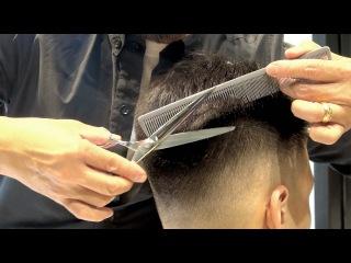 Kenneth Siu's Haircut - Soft Skin Fading Haircut