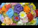 Как сделать цветы своими руками легко просто из фоамирана МК DIY видео Поделки с детьми!