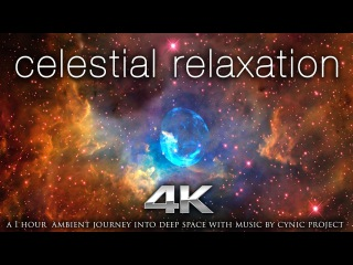4K Celestial Relaxation 1 Hour NASA /Hubble Ambient Film + 432HZ Calming Music