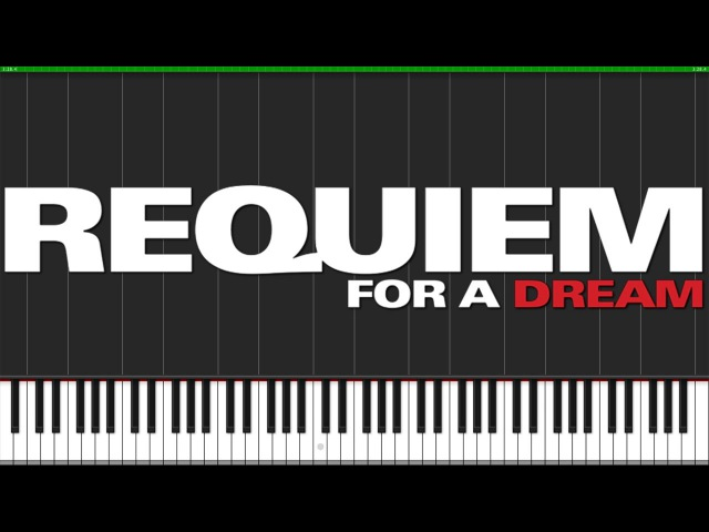 Lux Aeterna - Requiem for a Dream [Piano Tutorial] (Synthesia) Fontenele NXT