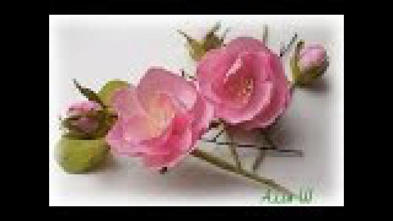 МК Цветы из фоамирана на шпильках. » Freewka.com - Смотреть онлайн в хорощем качестве