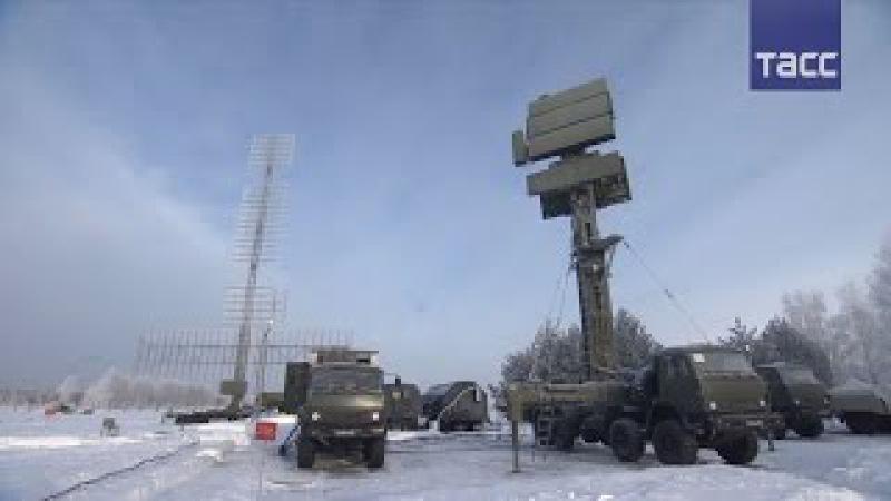 Новая РЛС Подлет заступила на боевое дежурство в Подмосковье