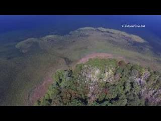 Озеро Світязь, Шацькі озера з висоти пташиного польоту