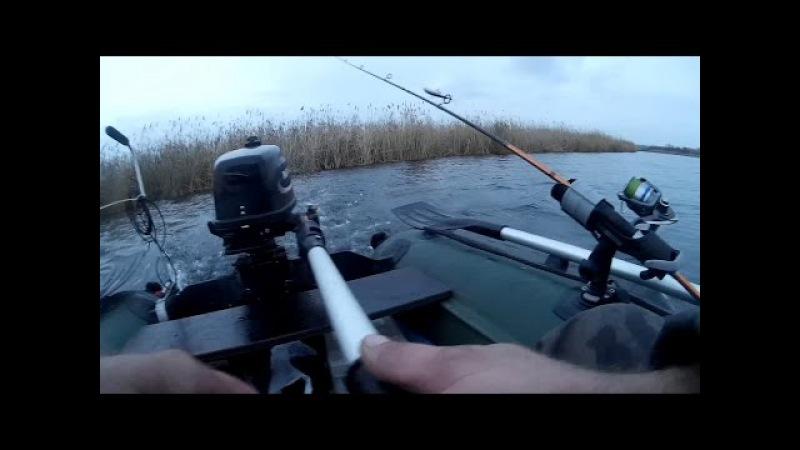 Рыбалка Испытание Дополнительных Аксессуаров Лодки ПВХ На Воде KarakayS Chanal