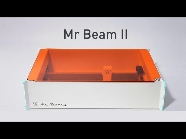 Лазерный Mr Beam II настольный станок для резки и гравировки лазером [Kickstarter]