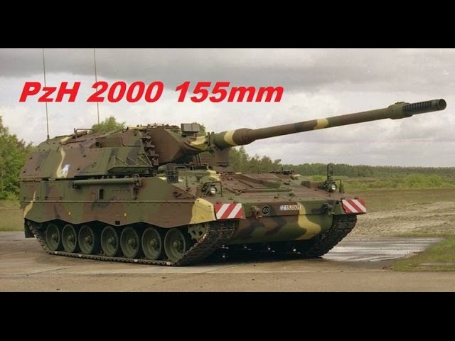 PzH 2000 self-propelled howitzer is one of the most powerful artillery systems currently deployed