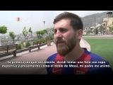 Increíble| Reza Parastesh, el auténtico DOBLE de Messi Existe está en Irán.