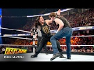 FULL MATCH — Reigns vs. Ambrose vs. Lesnar - Winner faces Triple H at WrestleMania: Fastlane 2016