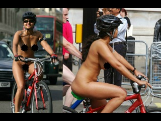 MEENAL JAIN, First Indian girl who rides completely nude in WNBR, London