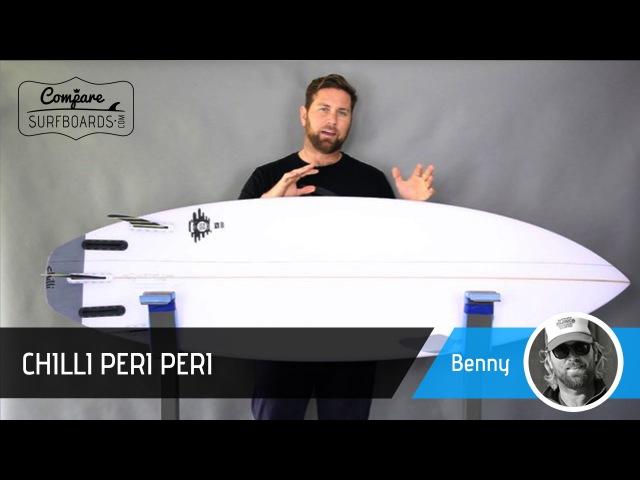 Chilli Peri Peri Surfboard Review Futures JJF Fins Volume Sweet Spot no.146 | Compare Surfboards