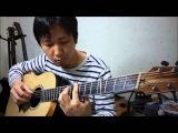 Masaaki Kishibe - November (cover) .... played by