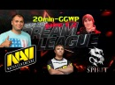 Natus Vincere vs Team Spirit game 1,2. TS Funn1k vs NAVI 20 Min-GGWP