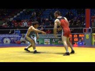 СКФО-2016 финал 65 кг Гаймасов-Джалилов