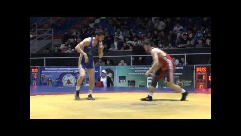 СКФО-2016 финал 57 кг Угуев-Оздарбиев