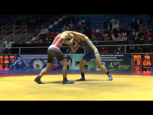 СКФО-2016 финал 70 кг Арсланов-Аминов