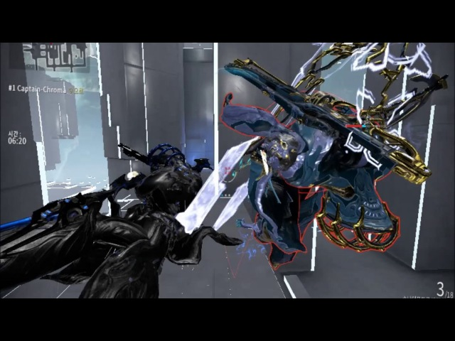 Warframe conclave / snipetron vandal play